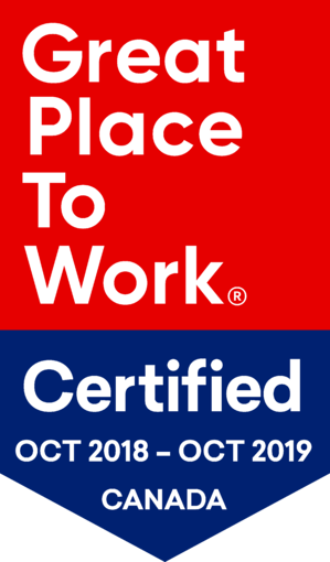 GPTW Certified - OCT 2018 - OCT 2019